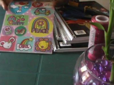 Manualidades, haz tu propio cuaderno de 100 o 200 hojas costurado =)