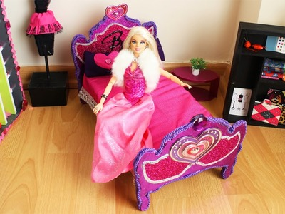 Manualidades para muñecas: Haz una cama para tu muñeca BARBIE