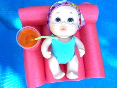 Manualidades para muñecos: Flotador