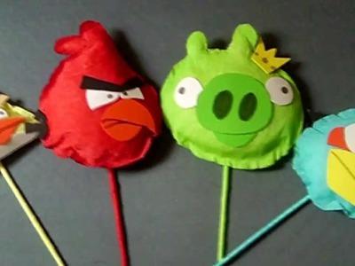 Pajaritos de papel crepé para arreglo  de dulces ▲SUPERMANUALIDADES▲