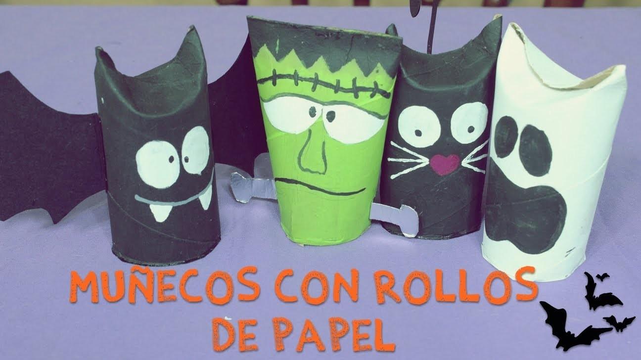 #PixxelArt - Muñequitos Para Halloween Con Rollos De Papel Higiénico [DIY]