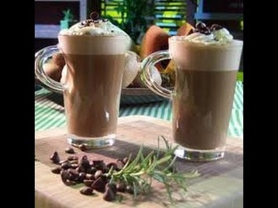 Receta: Cafe Frapuccino Casero - Silvana Cocina Y Manualidades