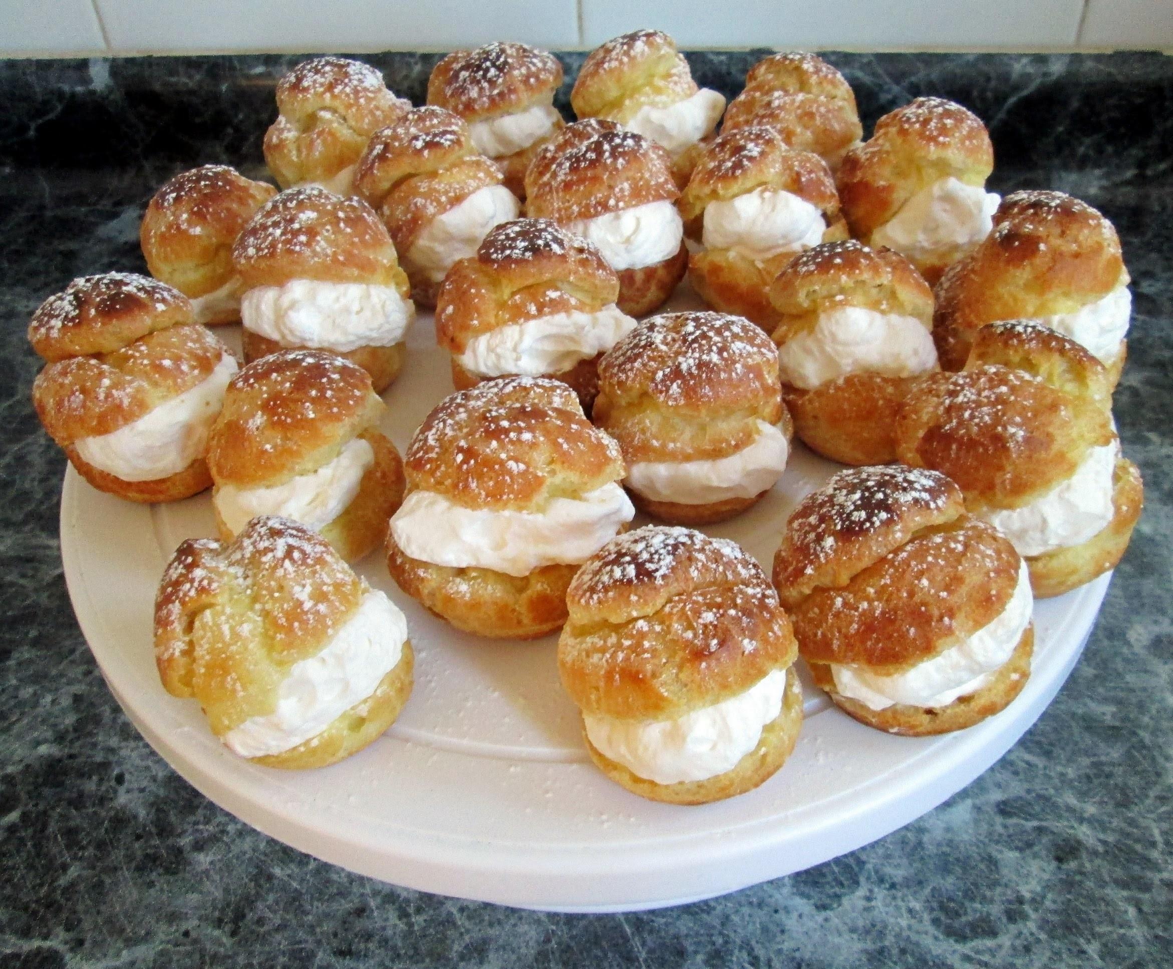 Receta: Profiteroles Con Crema (Paso A Paso) - Silvana Cocina Y Manualidades