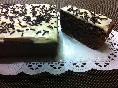 Receta: Torta húmeda de Chocolate (Sin Harina!) - La Cocinadera