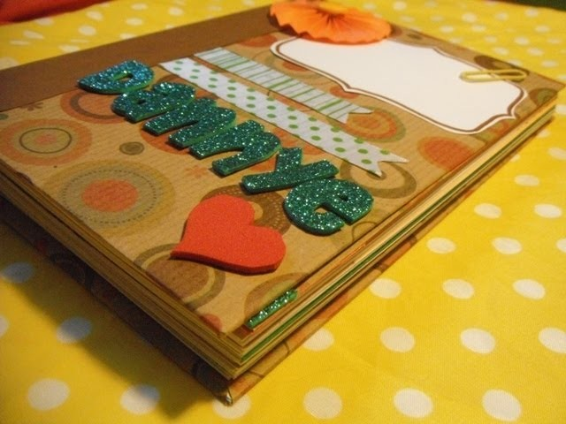Smashbook homemade {smashbook casero}♥