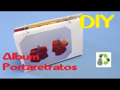 89. DIY ALBUM PORTARETRATO (RECICLAJE DE CAJAS DE CEREALES)