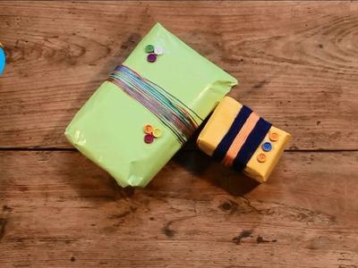 Adorno sencillo para envoltorio de regalo