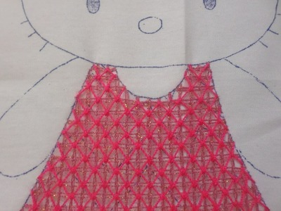 Bordado Fantasia Vestido Kitty # 2