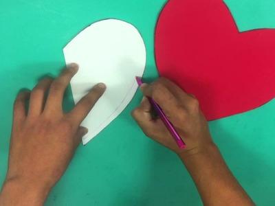 Caja de bombones en corazón - Ideas para San Valentín