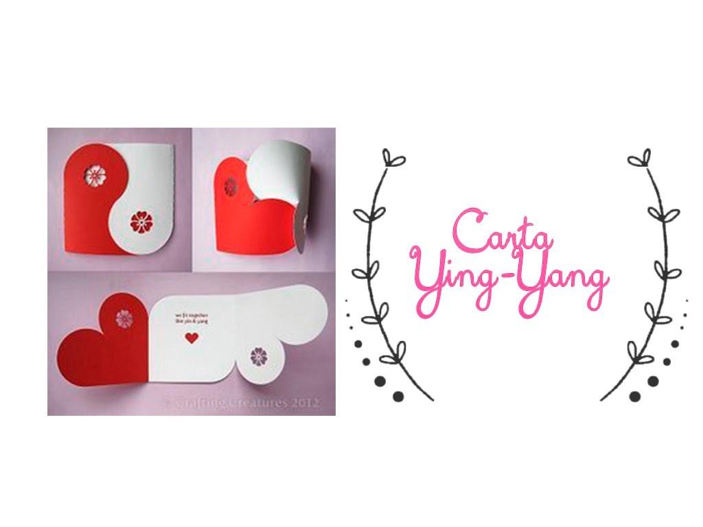 Carta Ying-Yang del amor (14 de febrero)