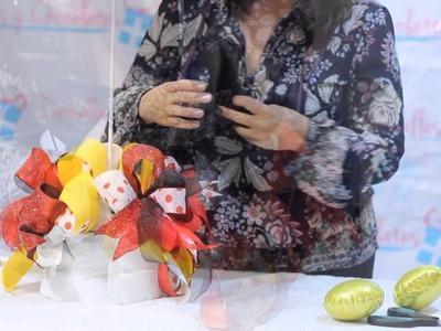 Centro de mesa de Minnie Mouse, Gaby Delgado