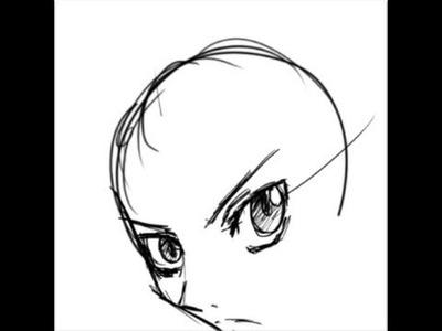 Como dibujar manga - Caras (parte 1)