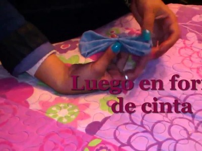 Como hacer ganchos cintas broches o prendedores para el cabello ♥ FACIL ♥