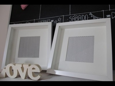 Cómo hacer nuestras láminas con washi tape | facilisimo.com