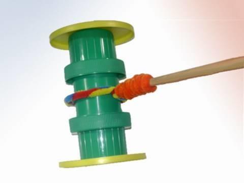 Como hacer  un juguete andador con materiales reciclados