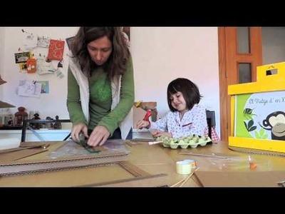 ¿Cómo hacer un kamishibai de cartón?