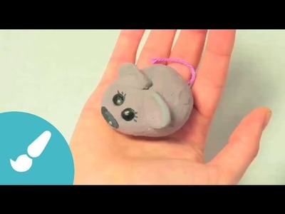 Cómo hacer un ratón con pasta de sal. Manualidades para niños