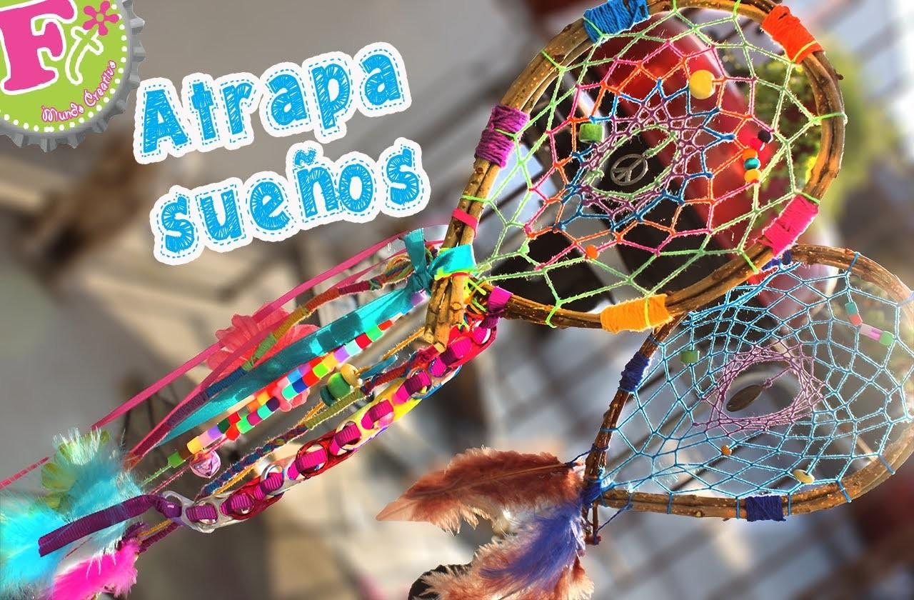 DIY: Atrapasueños DIFERENTE. Dreamcatcher
