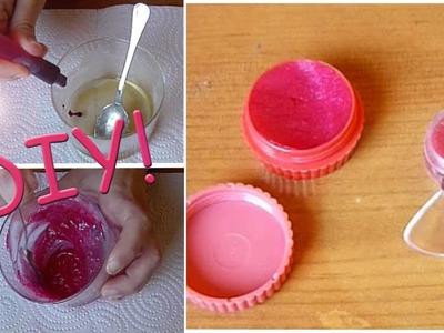 DIY: Cómo hacer bálsamo labial casero ♥ Mejores ideas de Sara