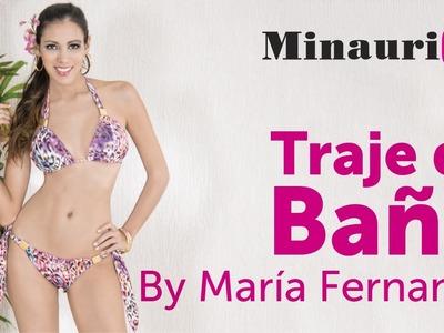 DIY - Cómo hacer un traje de baño #9 - How-to make a swimsuit by María Fernanda