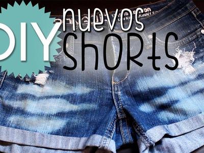 DIY Diseña tus propios short! ♥ Cómo cortar y personalizar tus short ♥