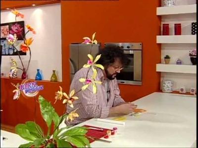 Jorge Rubicce - Bienvenidas TV - Miniorquídeas en Porcelana Fría