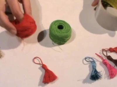 Manualidades - Como realizar borlas o flecos