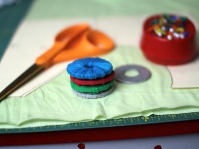 Pesas para patrones de costura- Tutorial