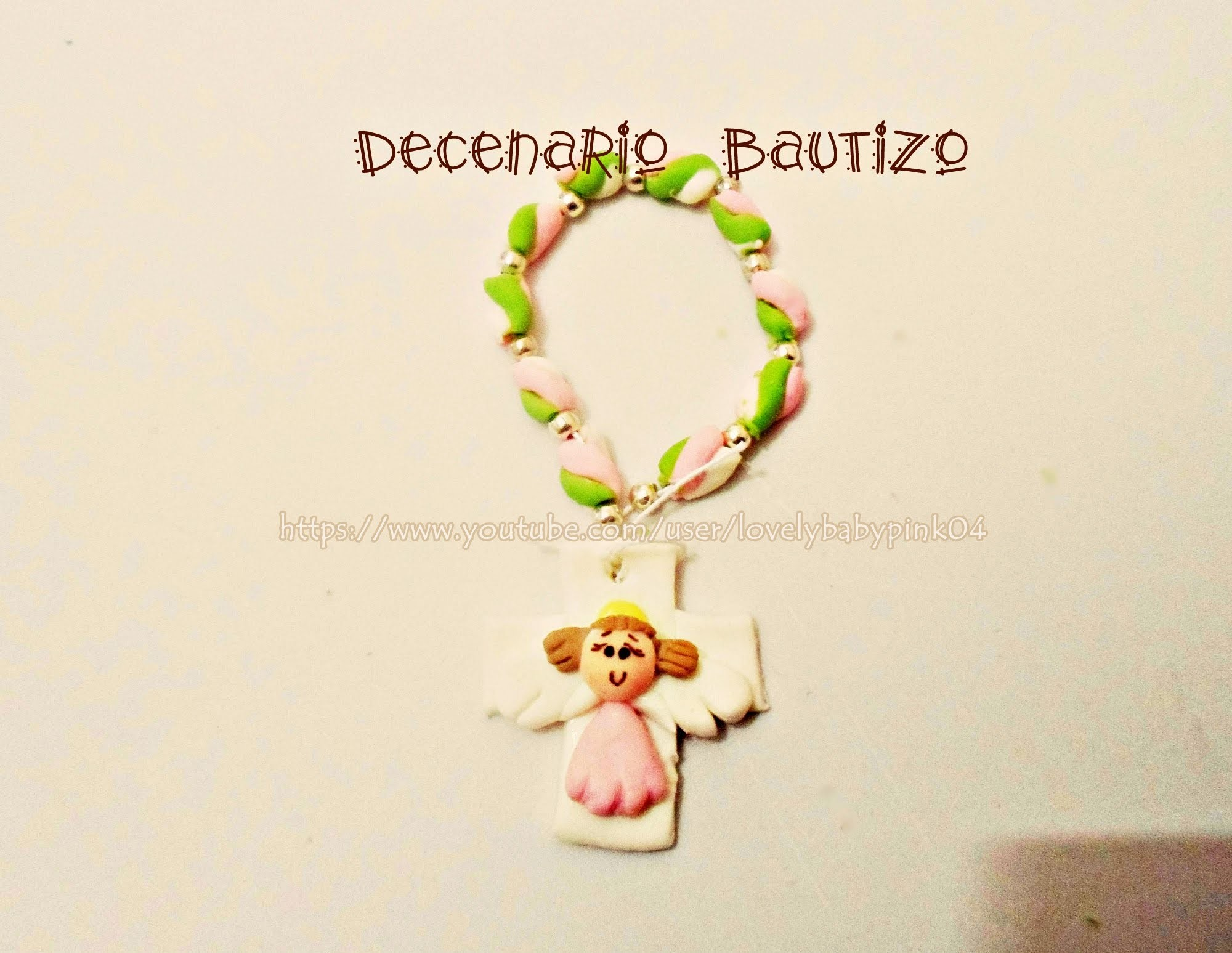 Recuerdo Bautizo Decenario Facil!! - Tutorial Easy Rosary