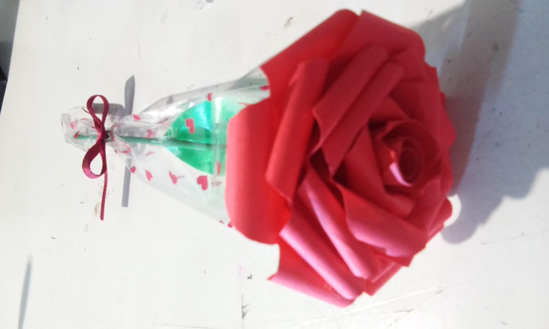 Rosa de papel | regalo para mamá