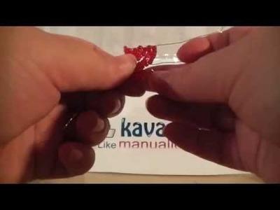 San Valentín DIY corazón de abaloris. chaquiras o mostacillas