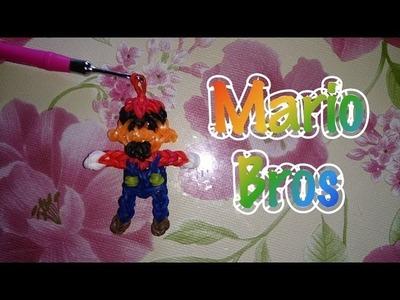 Super Mario Bros de gomitas con telar