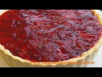 Tarta de Frutillas - Recetas de Tortas YA!