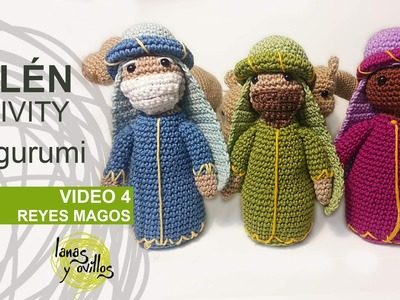 Tutorial Belén Amigurumi Part 4: Reyes Magos (Nativity English subtitles)