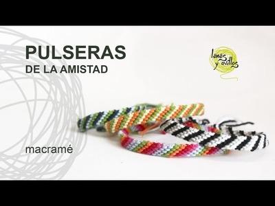 Tutorial Pulsera Amistad Fácil y Rápido para Principiantes en Español