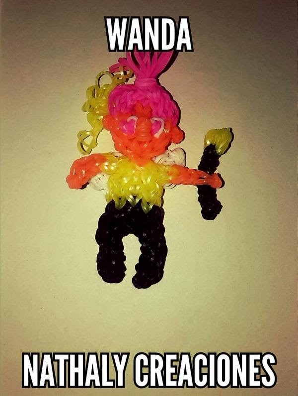 WANDA ( Fairly Odd Parents) Rainbow Loom