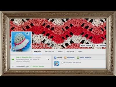 2 millones de seguidores en la fanpage Moda a Crochet