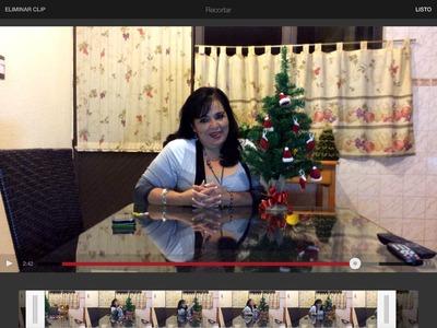 Adornos tejidos para tu árbol  de Navidad  - Tejiendo con Laura Cepeda