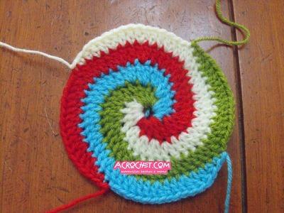 Circulo 4 colores parte 1
