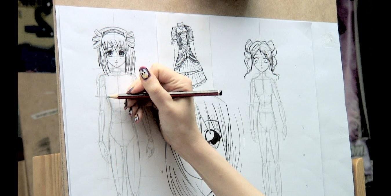Como dibujar Manga 8 (Cuerpo completo)  How to draw Manga Bodies