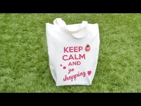 Cómo hacer una bolsa de tela - DIY Tote bag