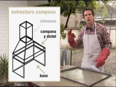 ¿Cómo hacer una campana para el quincho?