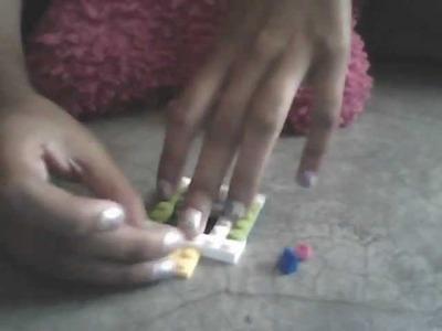 Como hacer una maquina expendedora de juguetes de lego