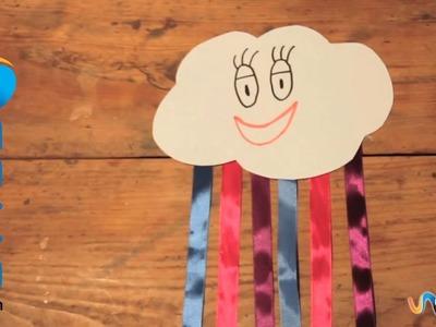 Cómo hacer una nube decorativa