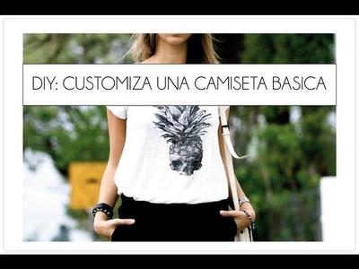 Customizar una camiseta basica