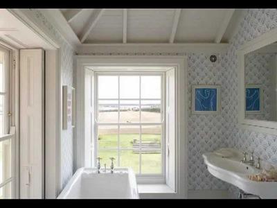 Decorar las paredes del baño