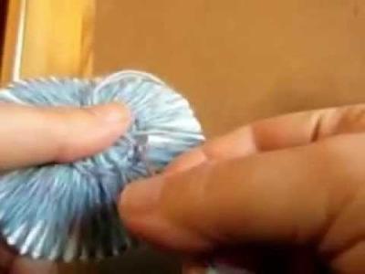 Flor de lana  patucos