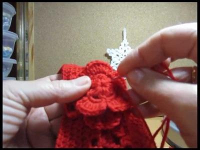 Gorro de crochet y bufanda. Regalo para Daniela