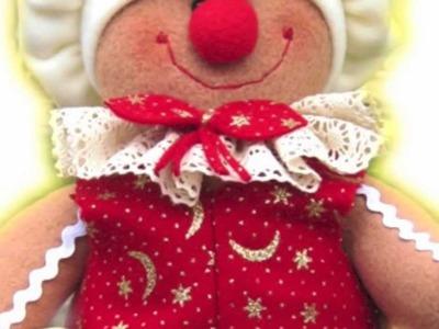 MUÑECOS NAVIDEÑOS, cursos muñecos navideños, christmas dolls, bonecos de natal