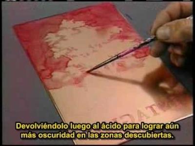 Procesos de impresión: Intaglio (sub español) - Buril, aguafuerte, aguatinta y punta seca y otros